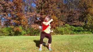 Video #4 - Seated Core Part 2 - Chair Exercise Fitness - Multiple Sclerosis - MS