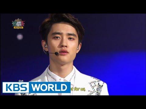 EXO-K - Overdose (중독) / Growl (으르렁) [Music Bank HOT Stage / 2014.11.12]