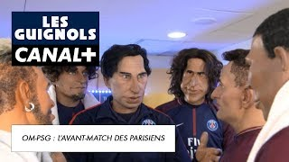 OM-PSG : quand les Parisiens préparent l'avant-match - Les Guignols - CANAL+