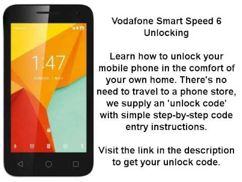 Network Unlock Code Vodafone