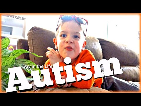 AUTISM DAY IN THE LIFE - 3 Year Old with Asperger's Syndrome