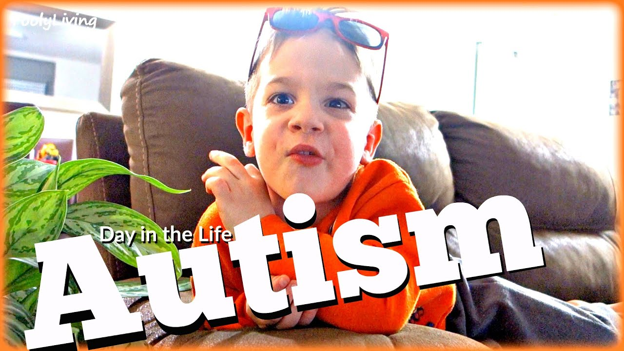 DAY IN THE LIFE 3 Year Old with High Functioning Autism
