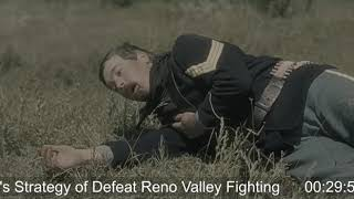 Custer's Strategy of Defeat Reno Valley Fighting