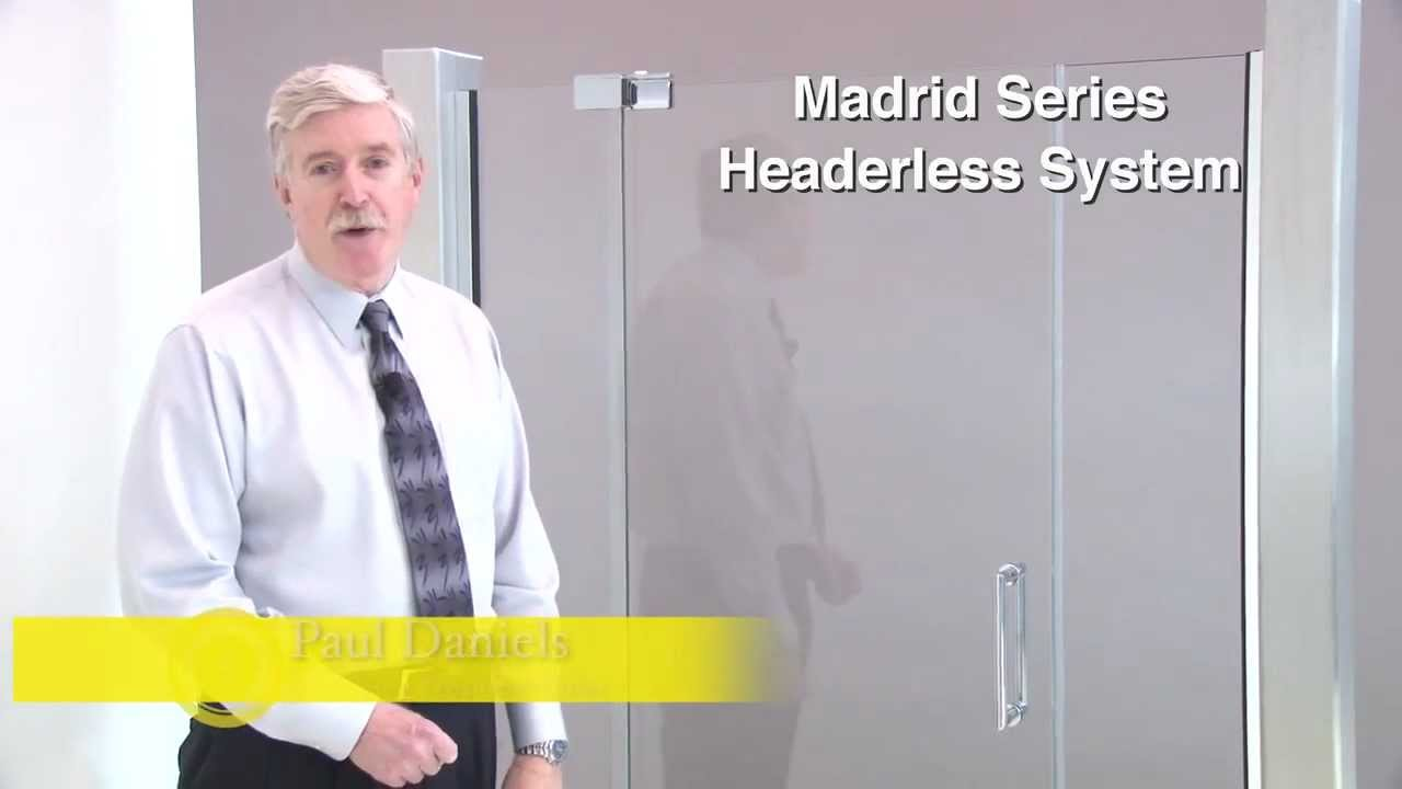 Crl Madrid Series Frameless Shower Door Hardware Youtube