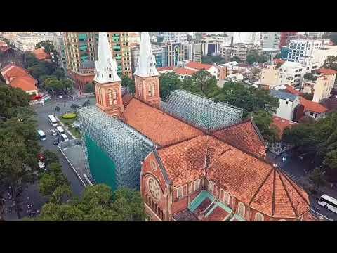 (Oneshot) #Notre-Dame #Cathedral #Basilica of #Saigon is under Renovation