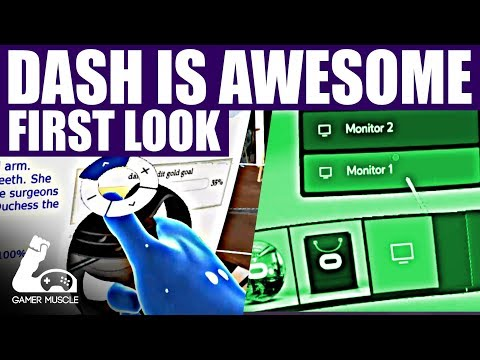 OCULUS DASH - FIRST LOOK - THE BEST VIRTUAL REALITY DESKTOP YET !