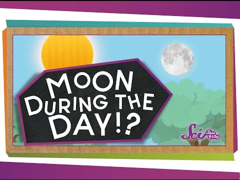 Why Can I See the Moon During the Day?