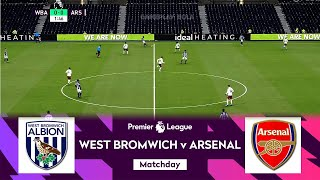 West Bromwich vs Arsenal EPL Matchday 17 English Premier League 2020 21