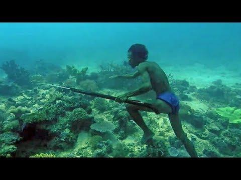 Странная мутация позволяет им находиться под водой дольше всех в мире