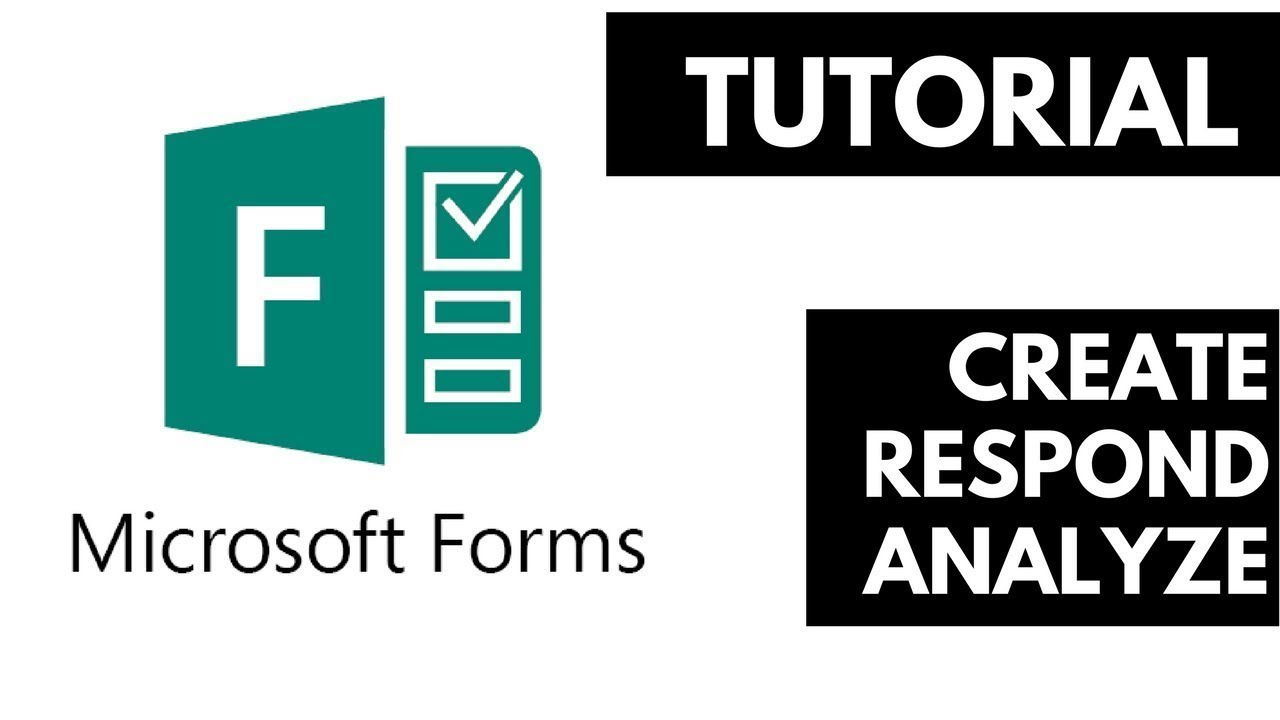 Microsoft Forms | 2018 Full Tutorial ✅✅✅