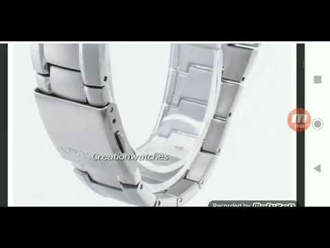 Seiko Titanium Sapphire SGG727P1 - Seiko Titanium Two-tone Chronograph SND451P1 On Creation Watches.