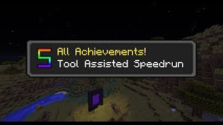 All Achievements-Tas (Set Seed) [Minecraft]