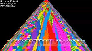 [Black MIDI] HAHA Song 1 Billion