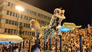 Lion dance on kuantan 2019