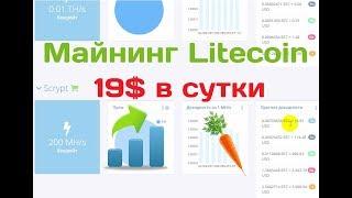 Программа Litecoin-майнер