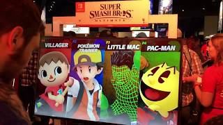 Smash Ultimate Gameplay - Villager, Pokemon Trainer, Little Mac, & Pac-Man