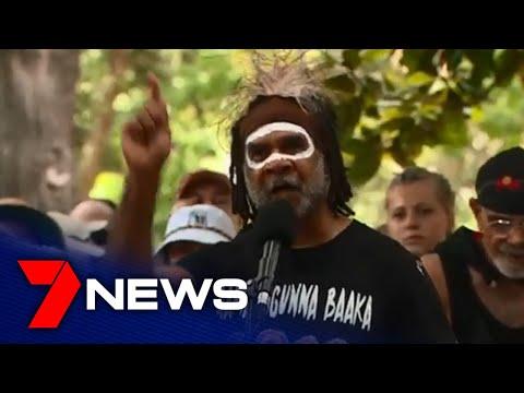 Thousands Protest Australia Day At Sydney's Hyde Park | 7NEWS