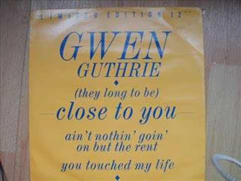 Gwen Guthrie Ain't nothin goin on but the rent Extended