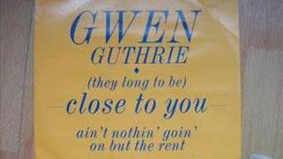 Gwen Guthrie Ain