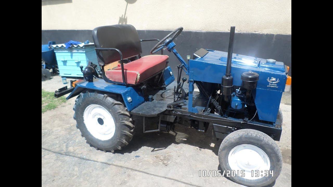 Самодельный трактор своими руками видео фото 600
