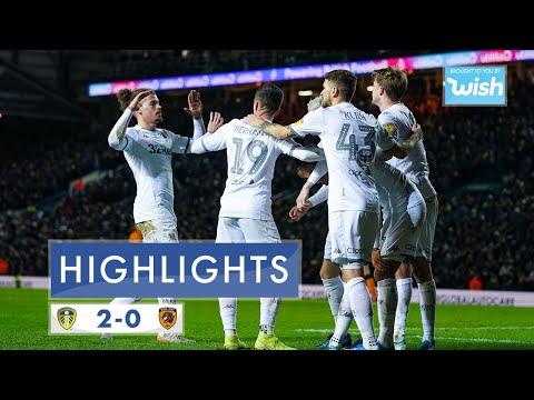 Highlights   Leeds United 2-0 Hull City   2019/20 EFL Championship