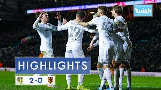 Highlights | Leeds United 2-0 Hull City | 2019/20 EFL Championship