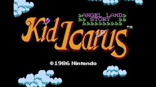 Kid Icarus (NES) - Complete Walkthrough - Best Ending