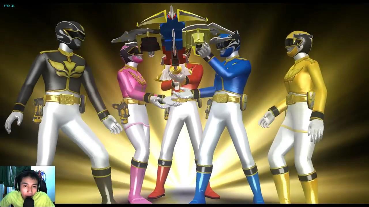 Sieu Nhan Game Play - 5 anh em siêu nhân thiên sứ - Game Super Sentai  Battle Ranger Cross #4.mp4