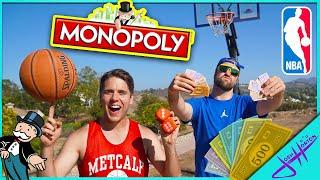 MONOPOLY BASKETBALL GIANT BOARD GAME (NBA Edition)