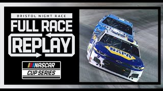 Bass Pro Shops Night Race from Bristol Motor Speedway | NASCAR Cup Series Full Race Replay