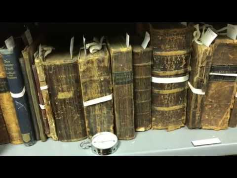 The Rare Book Room: Behind the Scenes