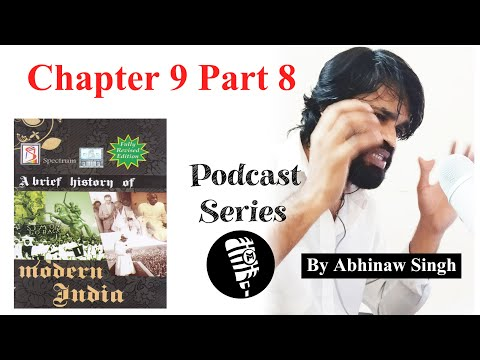 Spectrum Modern History of India Chapter 9 Part 8 Socio Cultural Reform Movements