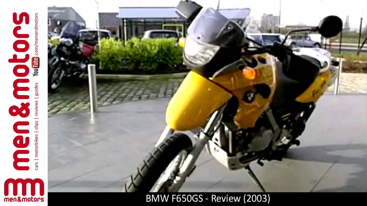 Bmw F650gs Review 2003 Youtube