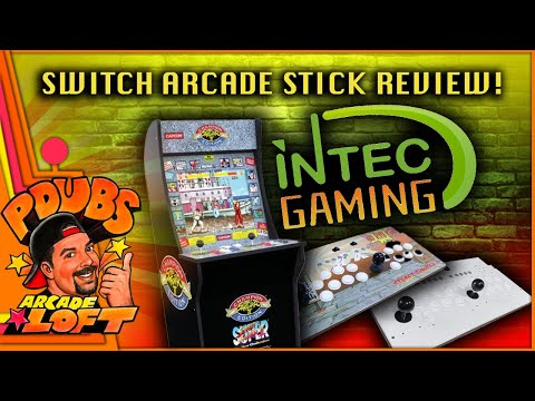 Switch Fighting Stick for Arcade1Up by Intec Gaming Review! from PDubs Arcade Loft
