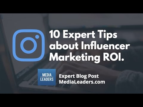 AMC2 10 Expert Tips about Influencer Marketing ROI