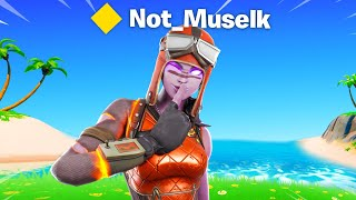 Cheating in Competitive Fortnite (fake account)