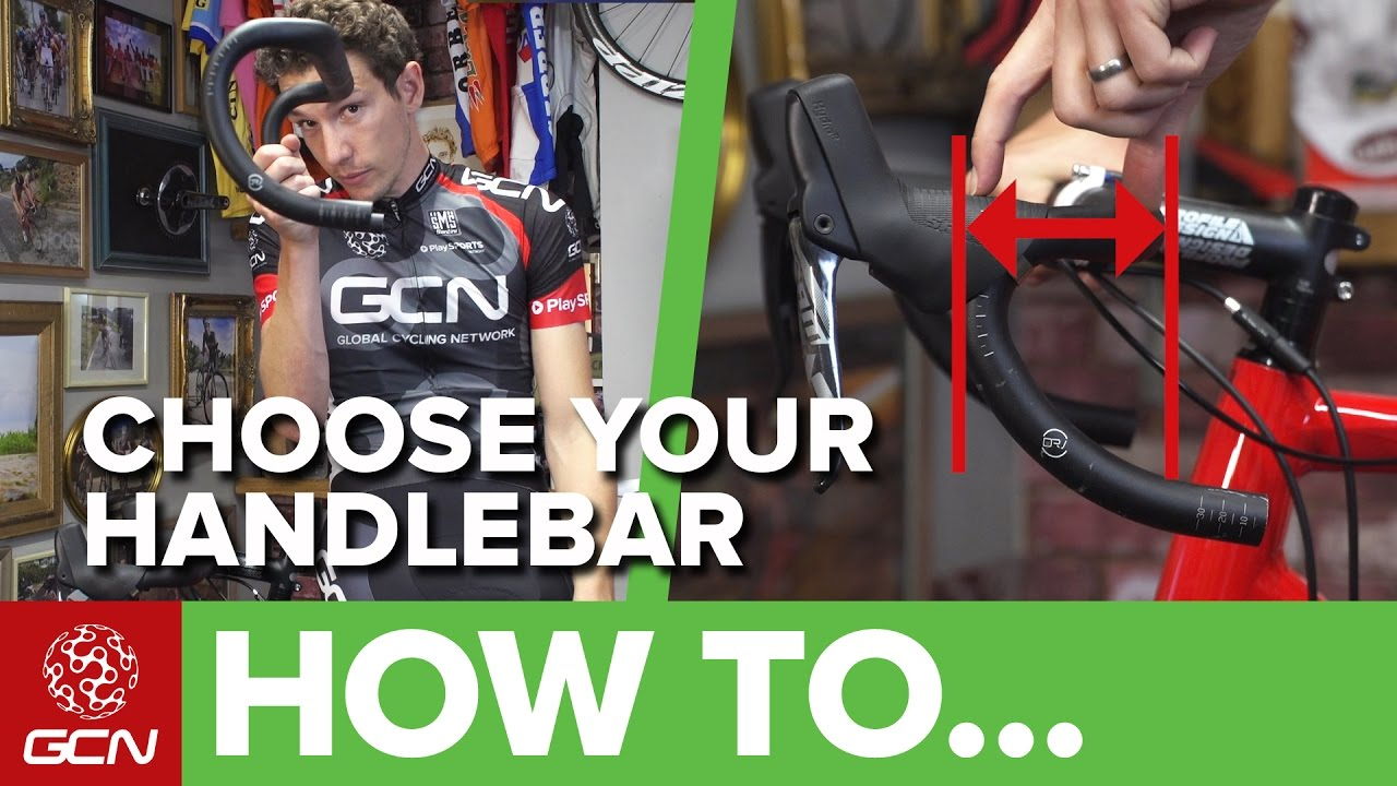 ad622a952f1 How To Choose The Right Handlebars For Your Road Bike - YouTube