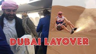 HOW TO CRUSH A DUBAI LAYOVER | WON'S WORLD