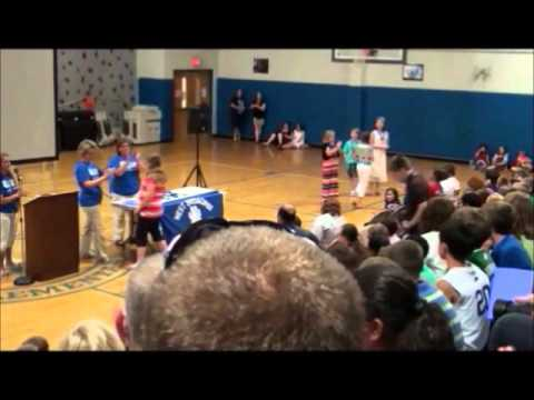 2012 5th Grade Commencement, West Broadway Elementary School, Madisonville, KY
