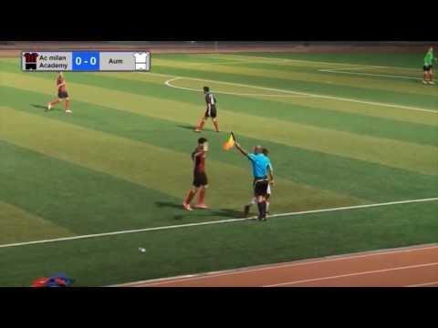 A.C Milan Academy vs AUM