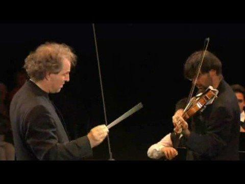 Leonidas Kavakos plays Sibelius violin concerto at the 2008 Verbier Festival