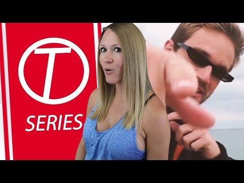 TSERIES DISS TRACK PEWDIEPIE | My Reaction