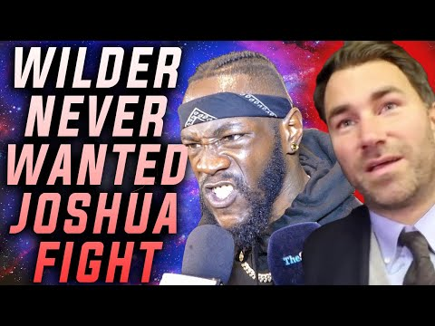 Deontay Wilder Never Wanted Anthony Joshua Fight!