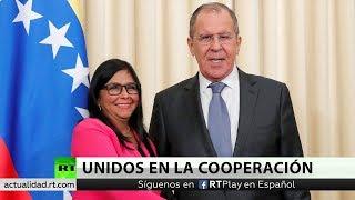 Lavrov Rusia Siempre Sera Solidaria Con Venezuela Y Contrarrestara La Presión Contra Caracas