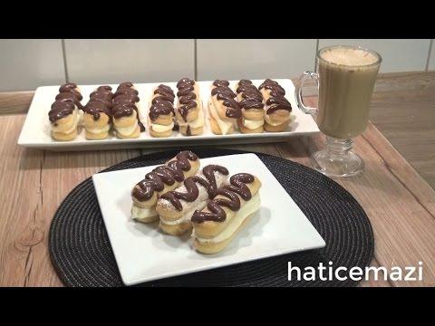 Ekler Pasta Tarifi  /Yapımı çok kolay / Hatice Mazı ile Yemek Tarifleri