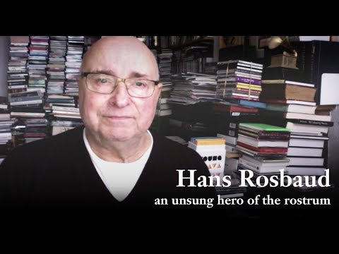 Hans Rosbaud: an unsung hero of the rostrum?