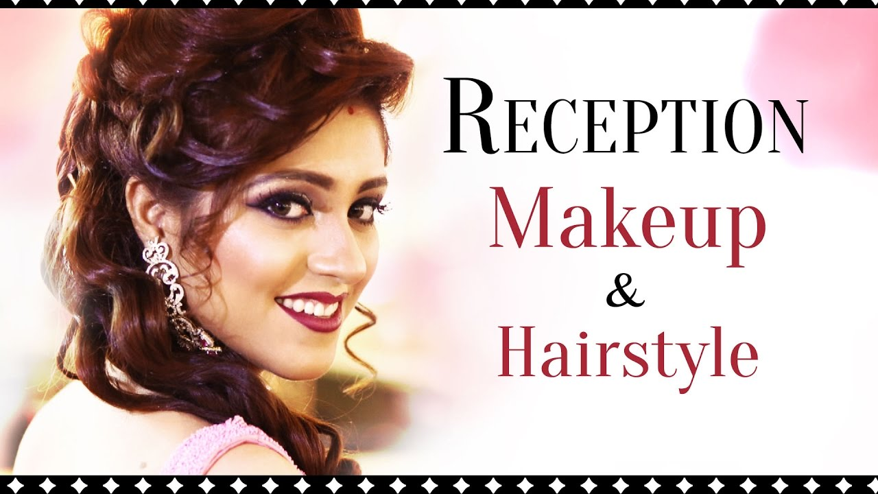 indian hair style design indian bridal wedding and reception makeup look asian 4908 | maxresdefault