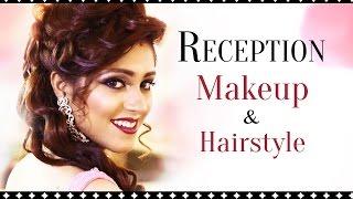 Indian Bridal Wedding and Reception Makeup Look | Asian Bridal Makeup Tutorial