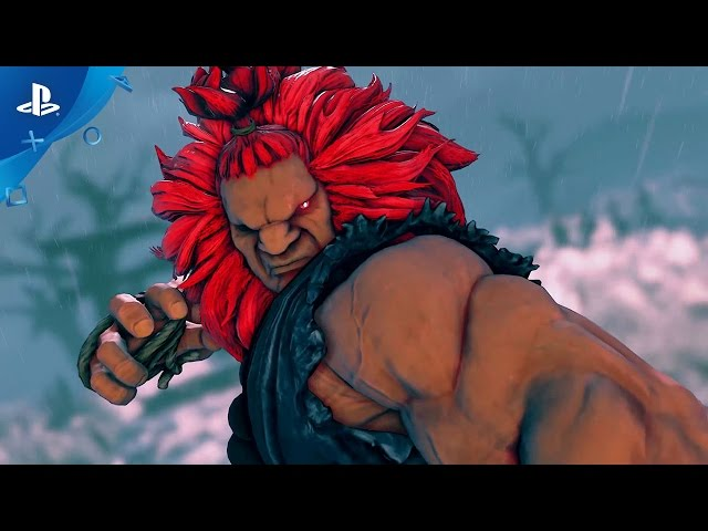 Street Fighter V - PlayStation Experience 2016: Akuma Trailer | PS4
