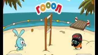 шарарам   игры на скай ТВ волейбол с крошем